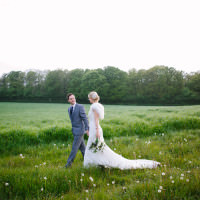 Rustic Country Garden Barn Yellow Navy Wedding http://hayleysavagephotography.co.uk/