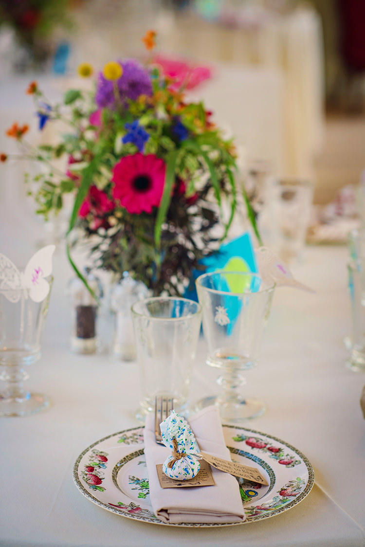 Floral Seed Favours Relaxed Country Outdoor Flowers Bright Summer Wedding http://www.photographybyvicki.co.uk/