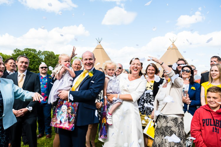 Confetti Relaxed Outdoor Tipi Wedding Child Naming Ceremony http://www.daffodilwaves.co.uk/