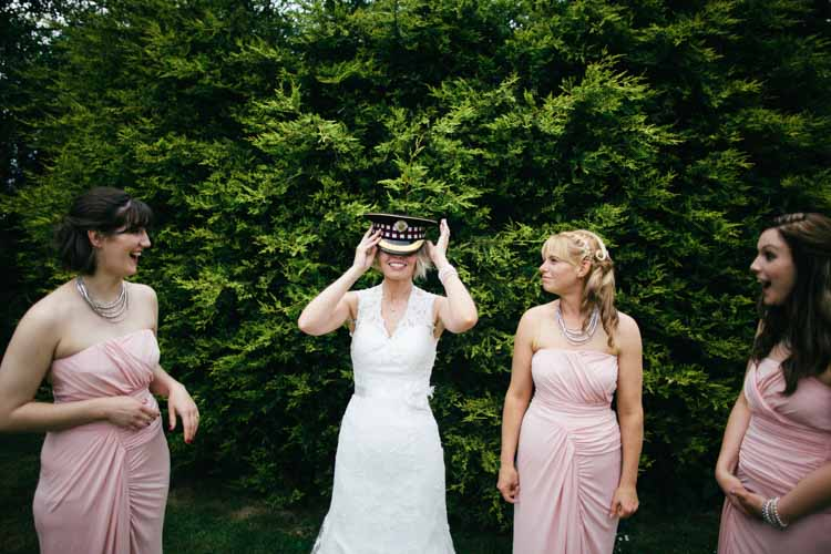 Pink Bridesmaid Dresses Natural English Country Garden Peonies Wedding http://www.dewiclough.com/