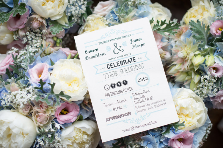 Typography Stationery Invitations Pretty Pastel Relaxed Rustic Wedding http://www.kayleighpope.co.uk/