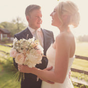 Soft Pastel Romantic & Rustic Outdoor Marquee Wedding