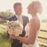 Soft Pastel Romantic & Rustic Outdoor Marquee Wedding http://www.rebeccadouglas.co.uk
