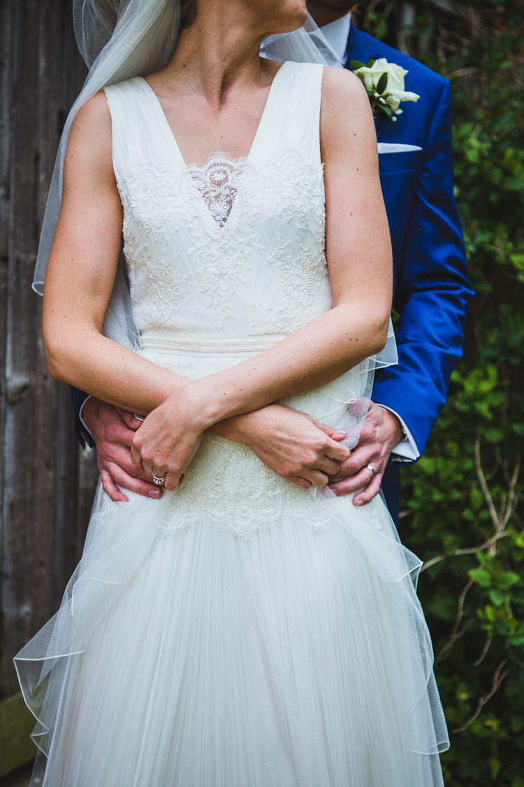Patrick Casey Prudence Dress Gown Bride Bridal Very Casual Country Barn Wedding http://amybphotography.co.uk/