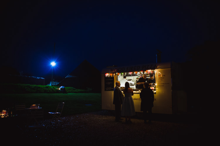 Pizza Very Casual Country Barn Wedding http://amybphotography.co.uk/