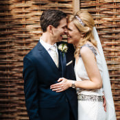 Classic English Country Garden Glamour Wedding in the Cotswolds