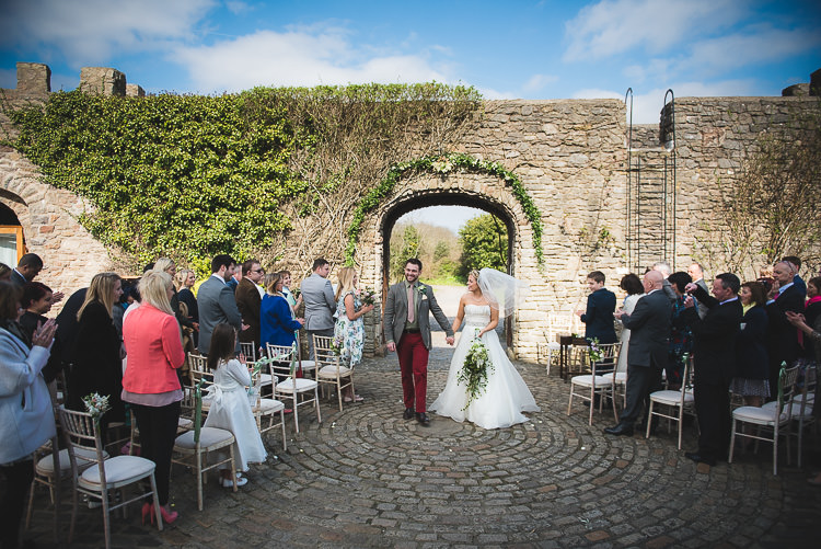 Outdoor Ceremony UK Family Fun Homely Castle Wedding http://www.lifeinfocusphotography.co.uk/