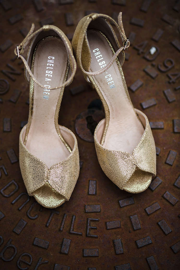 Bride Shoes Bridal Magical Gold Burgundy 1930s Wedding http://laurenmcglynnphotography.com/