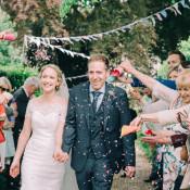 Relaxed & Pretty Garden Marquee Wedding