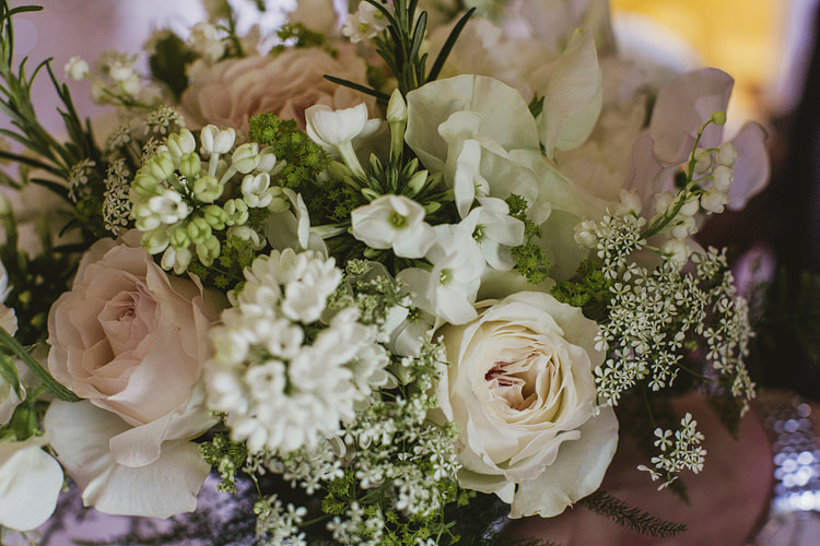 Rose Lily of the Valley Bouquet Flowers Bride Bridal Whimsical Rustic DIY Wedding http://www.yorkplacestudios.co.uk/