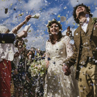 Whimsical Rustic DIY Wedding http://www.yorkplacestudios.co.uk/