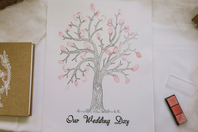Finger Print Tree Whimsical Rustic DIY Wedding http://www.yorkplacestudios.co.uk/