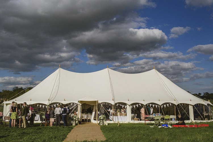 Pole Tent Marquee Whimsical Rustic DIY Wedding http://www.yorkplacestudios.co.uk/