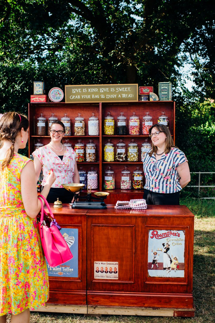 Sweet Shop Sweetie Table Cart Stand Bar Station Garden Music Festival Double Decker Bus Marquee Wedding http://www.mariannechua.com/
