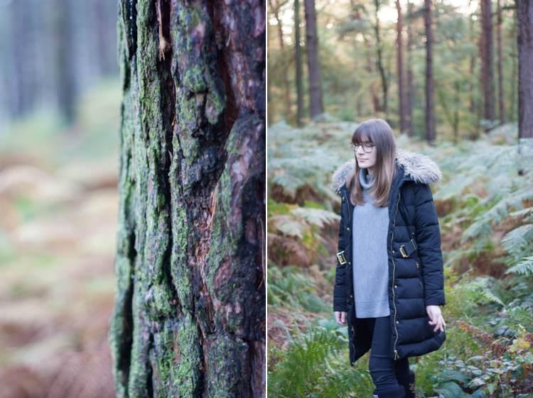 Autumn Woodland Wood Walk Lifestyle Blog Fashion UK