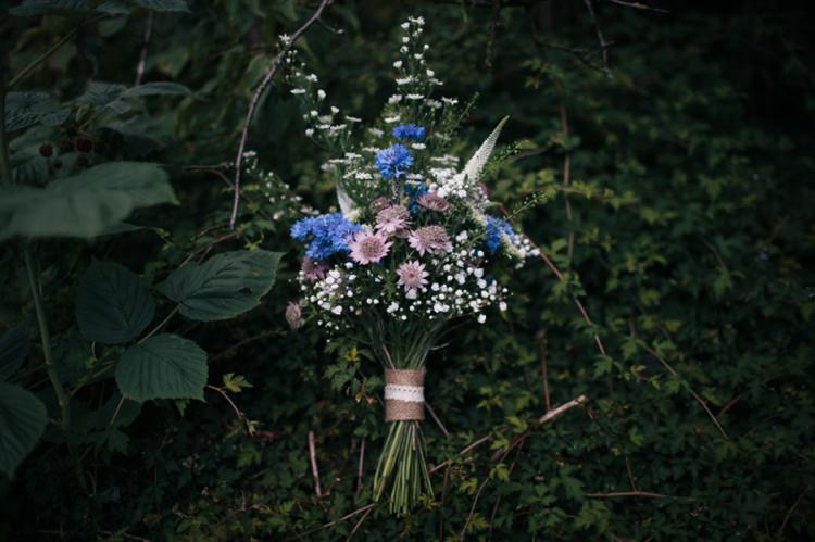 DIY Wild Natural Bouquet Flowers Bride Bridal Industrial Farm Barn Music Festival Wedding http://luciusfoxphotography.com/