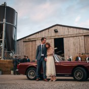 Indie Industrial Farm Barn Music Festival Wedding