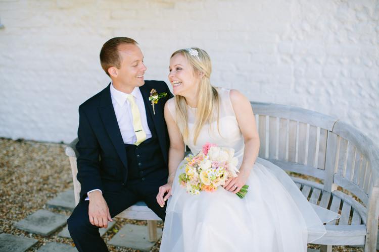 Yellow Pink Fresh Fun Summer Barn Wedding http://www.camillaarnholdphotography.com/