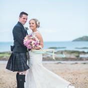 Glitter Gold Mint & Pink DIY Outdoor Garden Beach Wedding