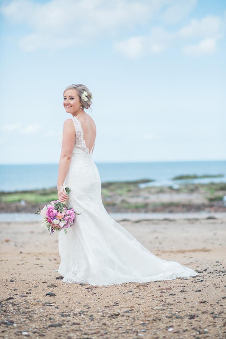 Cosmabella Lace Dress Bride Bridal Gown Glitter Gold Mint Pink DIY Outdoor Garden Beach Wedding http://www.carleybuickphotography.com/