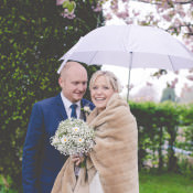 Quirky Rustic Distressed Doors & A Vintage Piano DIY Wedding in a Dome Marquee