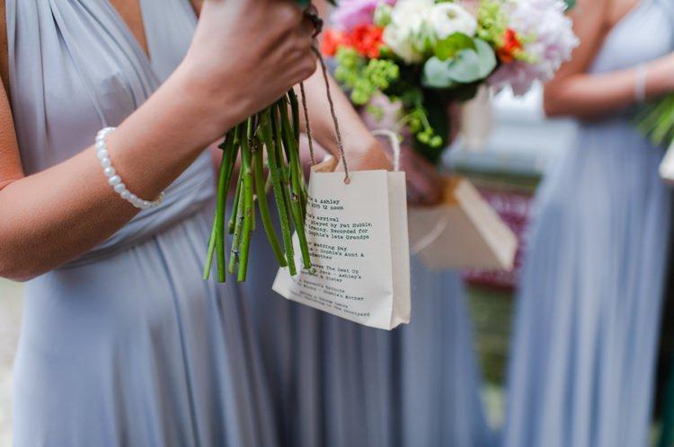 Confetti Bag Festival Tipi Bluebell Woods Wedding http://alexa-loy.com/