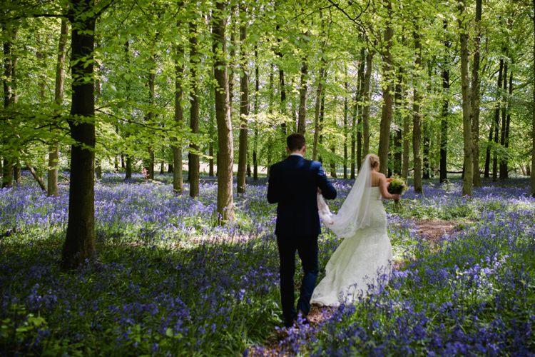 Festival Tipi Bluebell Woods Wedding http://alexa-loy.com/