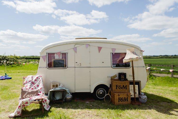 Caravan Photo Booth Festival Tipi Bluebell Woods Wedding http://alexa-loy.com/