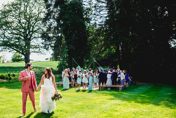 Charlie Brear Feather Dress Bride Bridal Whimsical Juric Park Outdoor Wedding Http Barneywalters