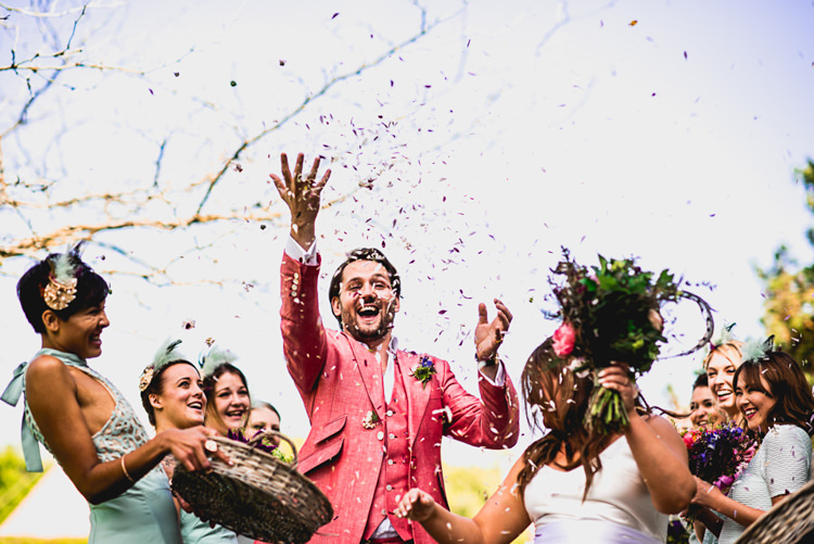 Confetti Whimsical Jurassic Park Outdoor Wedding http://barneywalters.com/