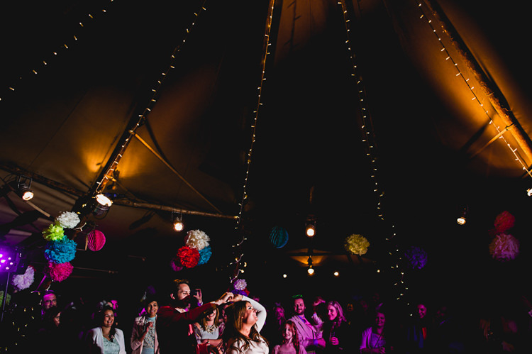 Fairy Lights Whimsical Jurassic Park Outdoor Wedding http://barneywalters.com/