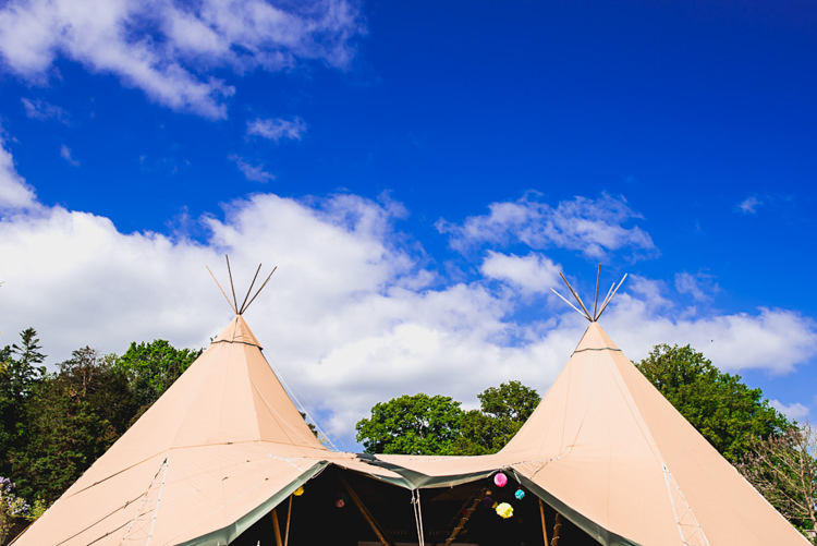 Tipi Whimsical Jurassic Park Outdoor Wedding http://barneywalters.com/