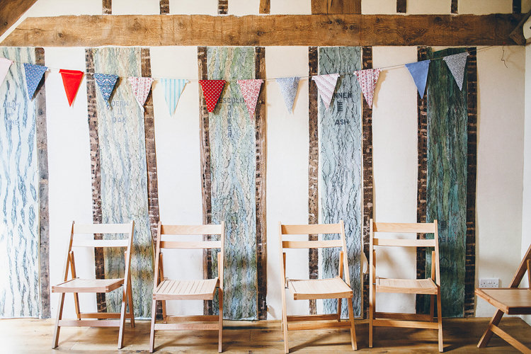 Bunting Pretty Relaxed Country Hand Made Wedding http://lemonadepictures.co.uk/