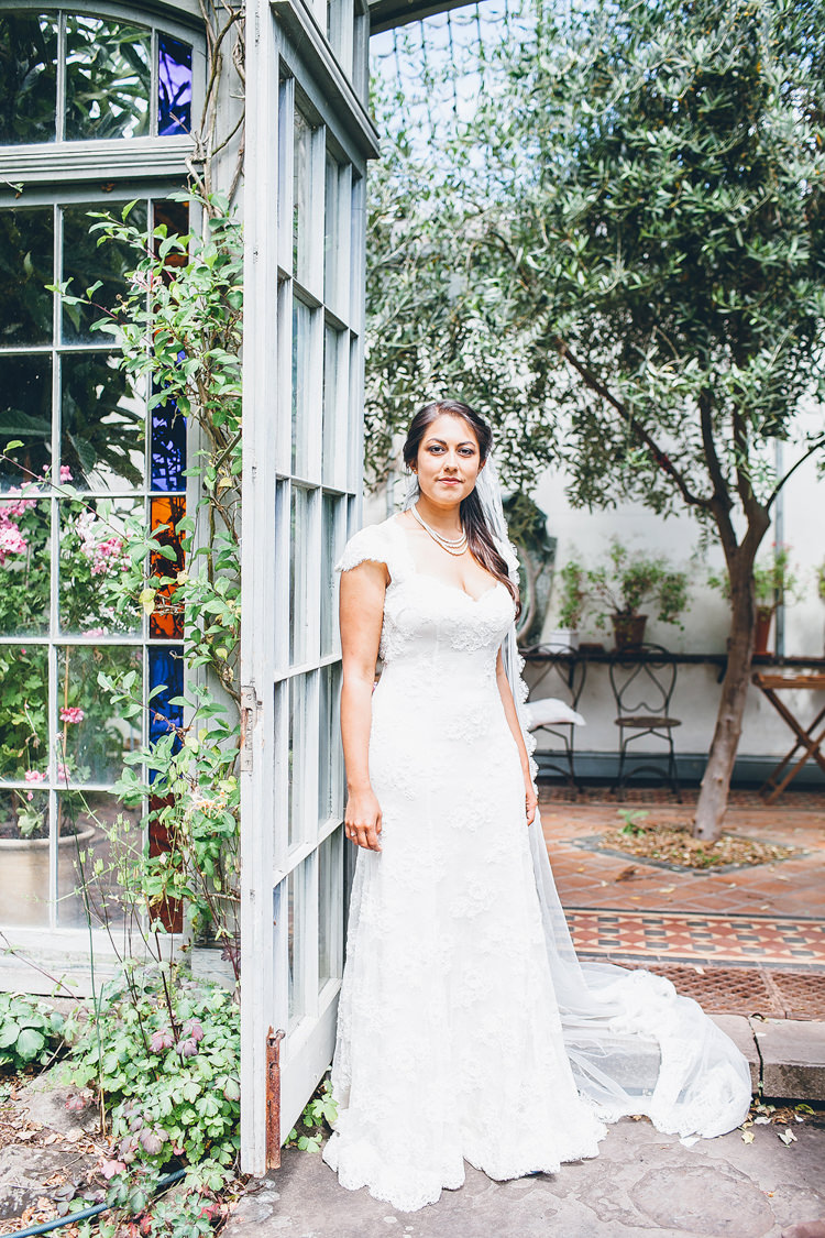 Caroline Castigliano Lace Dress Gown Bride Bridal Pretty Relaxed Country Hand Made Wedding http://lemonadepictures.co.uk/