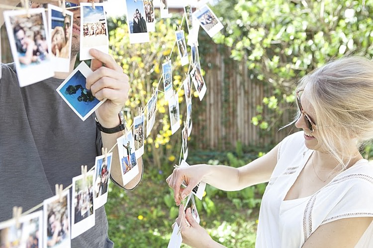 Cheerz Photo Prints Wedding Decor