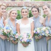 Floral Pretty Chintz Country Garden Marquee Wedding