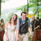Whimsical Mountain Cabin Wedding in North Carolina