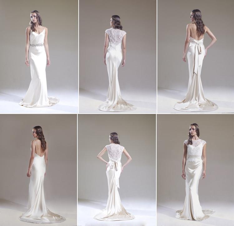 Sabina Motasem 2016 Slip Style Bridal Dress Gown Elsa