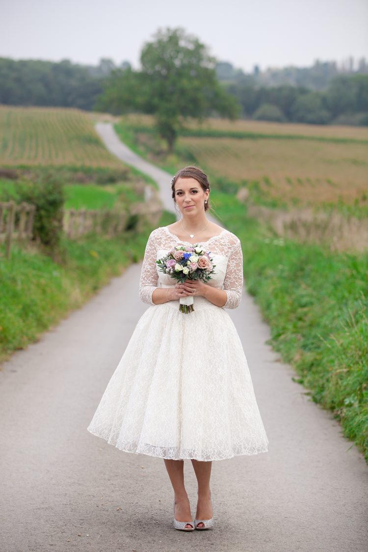 Vintage Blue Country Farm Wedding http://kathrynedwardsphotography.com/