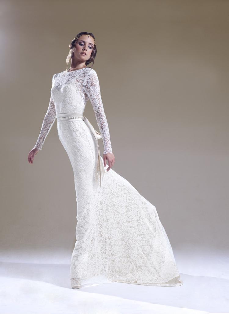 Sabina Motasem 2016 En Pointe Wedding Dress Collection