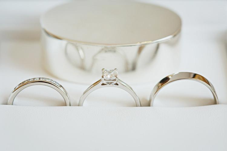 Engagement Diamond Ring Band Soft Modern Vintage Garden Wedding http://kirstenmavric.co.uk/