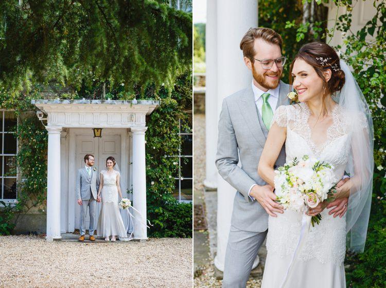 Soft Modern Vintage Garden Wedding http://kirstenmavric.co.uk/