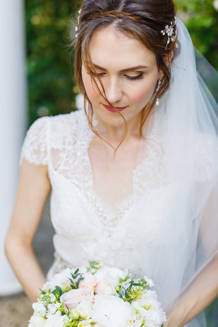 Hair Plait Waves Braid Bride Bridal Make Up Beauty Soft Modern Vintage Garden Wedding http://kirstenmavric.co.uk/