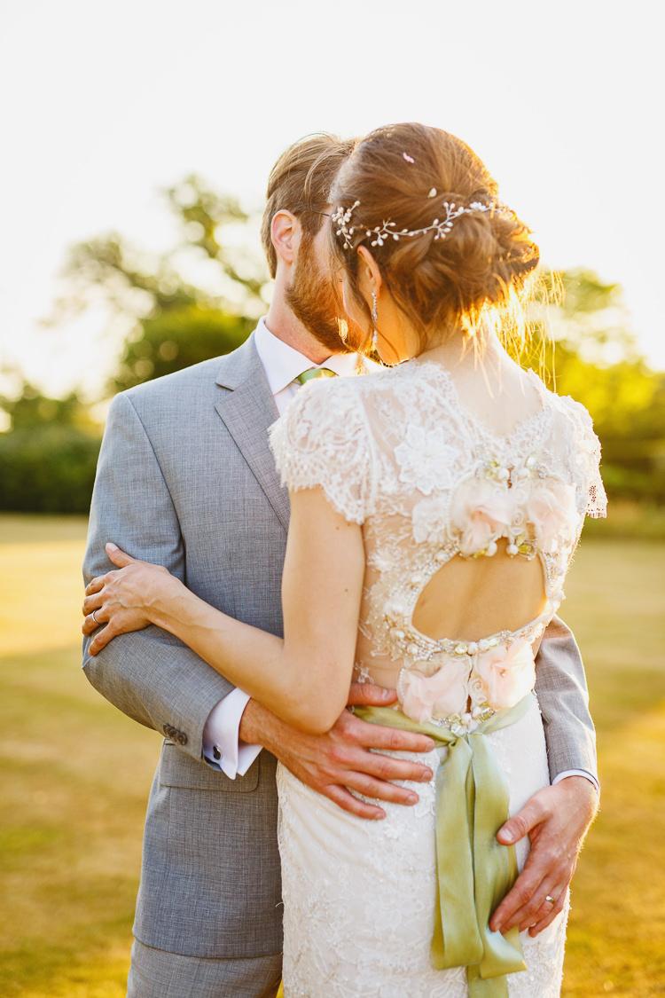 Claire Pettibone Beauty Dress Gown Bride Bridal Back Soft Modern Vintage Garden Wedding http://kirstenmavric.co.uk/