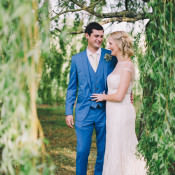 Beautiful & Relaxed Summer Blush Lavender & Hessian Wedding