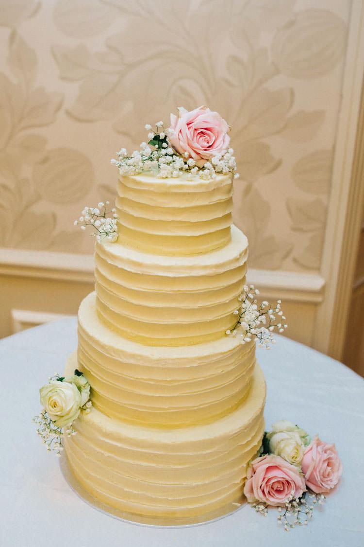 Rustic Buttercream Flowers Cake Fun Personality Lego Wedding http://rachelryanphotography.co.uk/