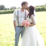 Sweet Homespun Colourful Crafty Pastel Wedding