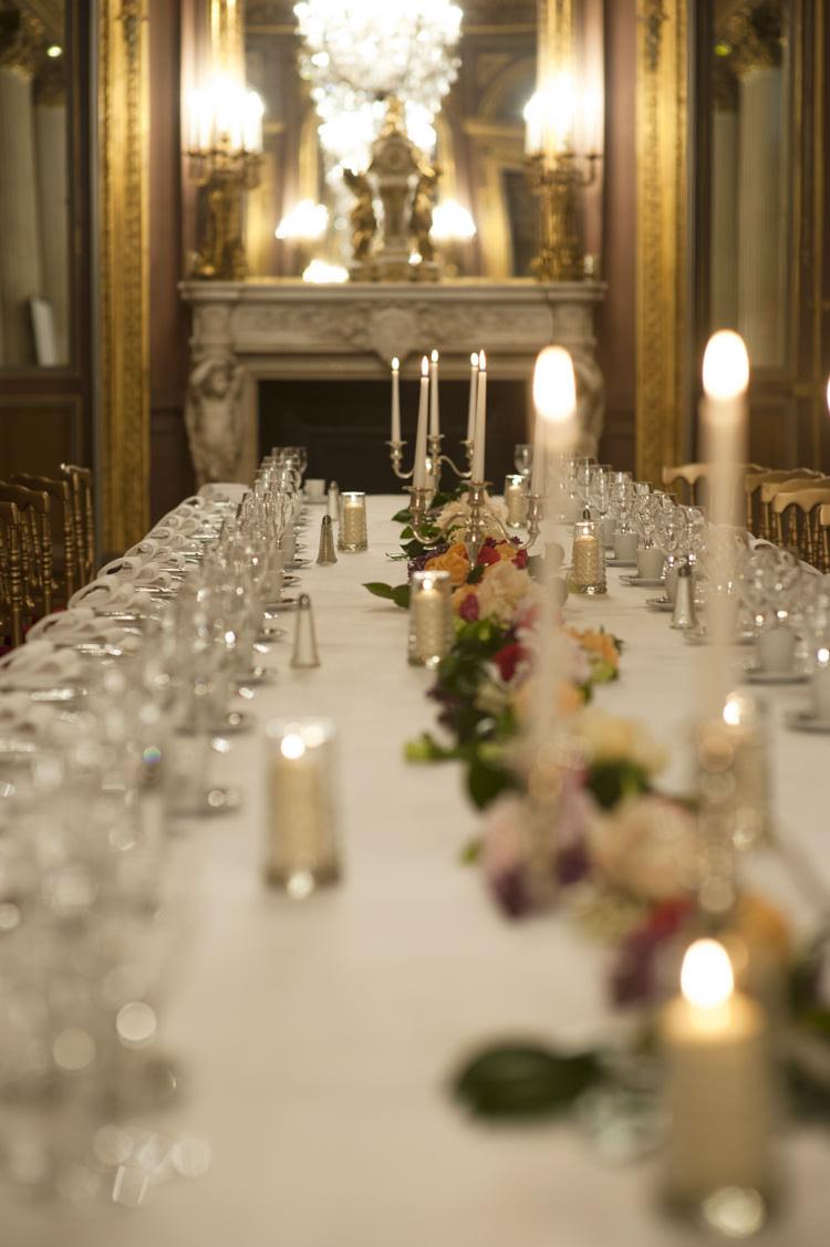 Candles Opulent Parisian Pink Wedding Ideas http://careysheffield.com/