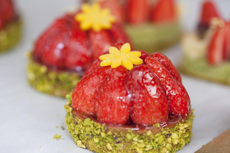 Dessert Opulent Parisian Pink Wedding Ideas http://careysheffield.com/