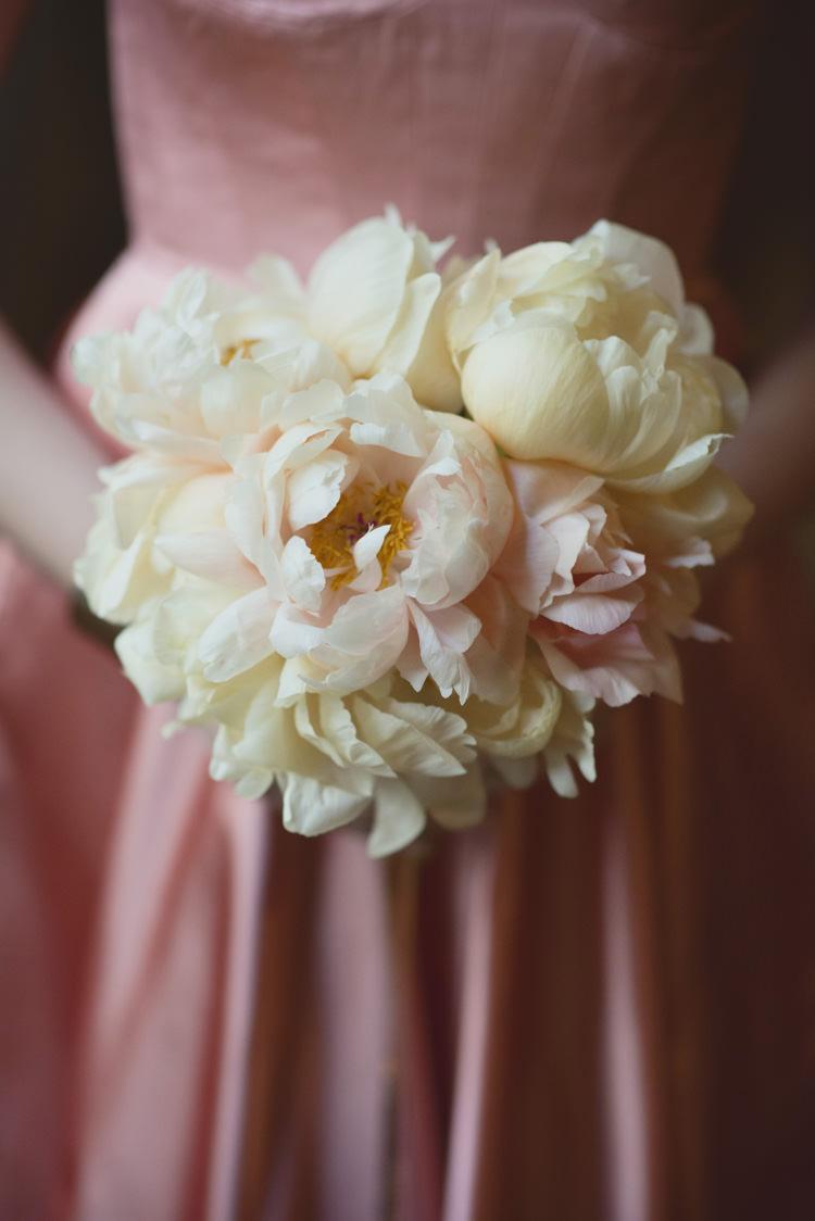 Open Peony Bouquet Bride Bridal Opulent Parisian Pink Wedding Ideas http://careysheffield.com/